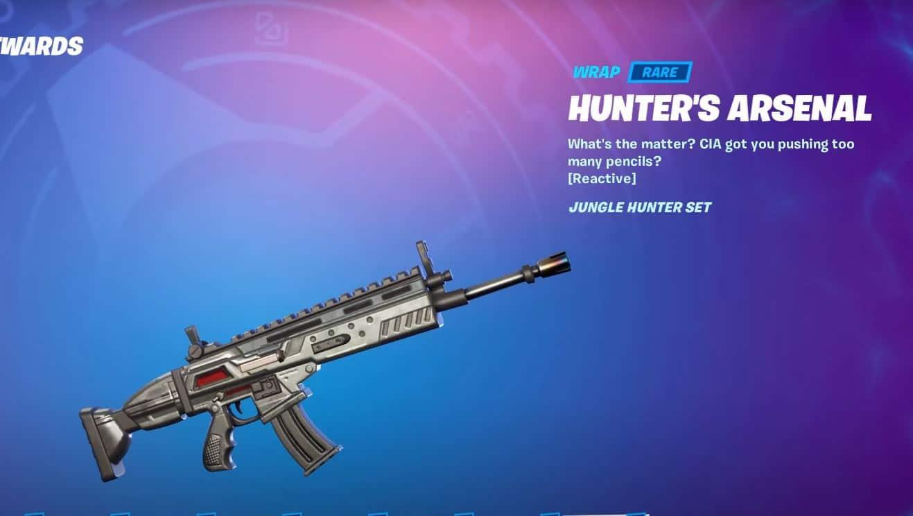 Fortnite Hunter's Arsenal Wrap