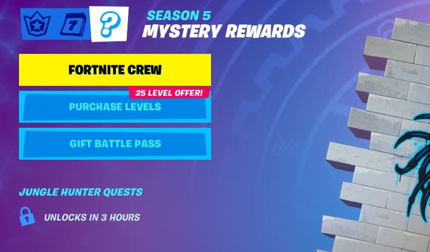 Fortnite Season 5 Mystery Challenges