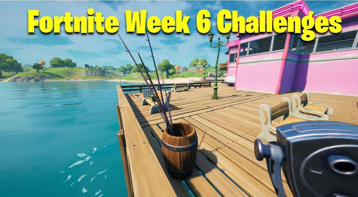 Fortnite Season 5 Week 6 Challenges / Quests Leaked ...