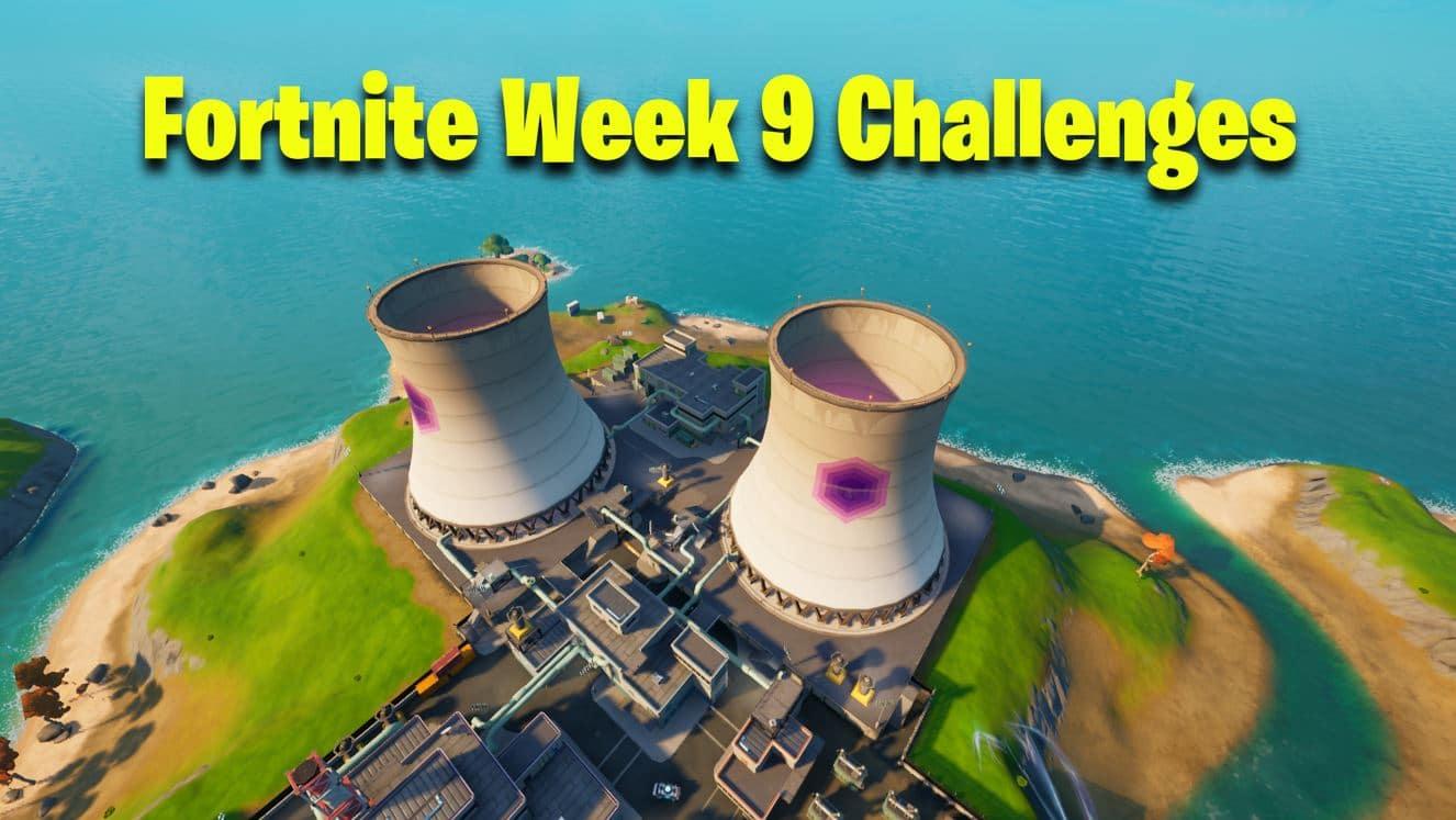 Fortnite Week 9 Challenges