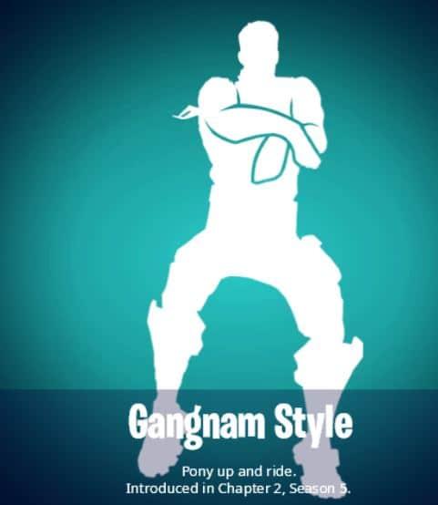 Gangnam Style Emote in Fortnite
