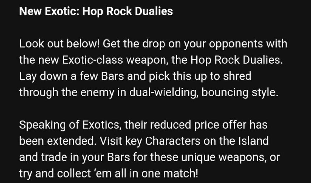 Hop Rock Dualies