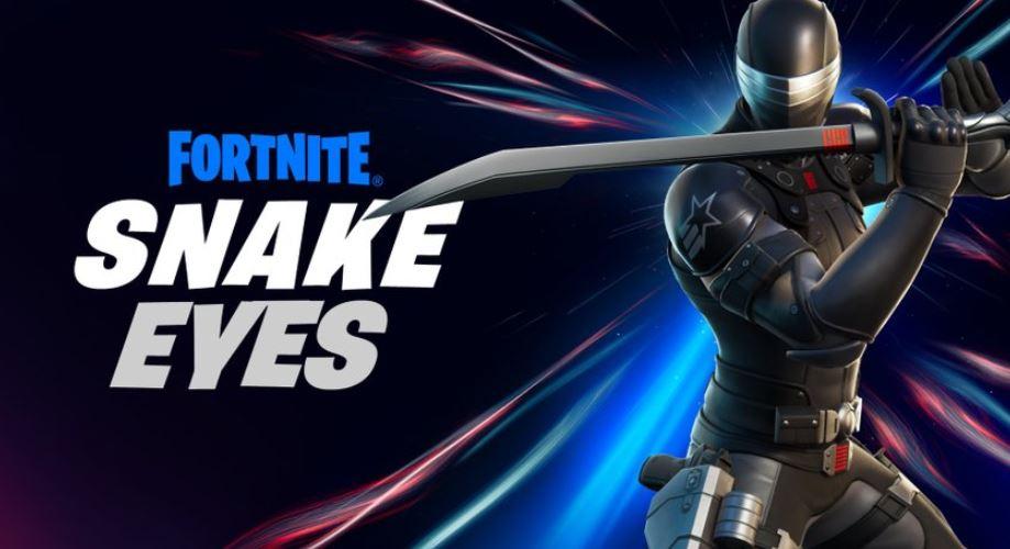Ojos de serpiente en Fortnite