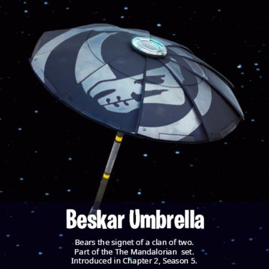 Paraguas Beskar Fortnite