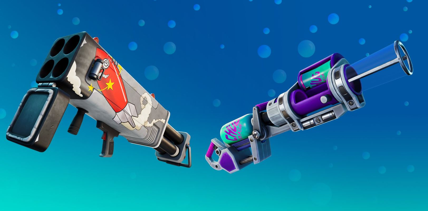 Fortnite Chug Cannon Burst Quad Launcher Armas exóticas