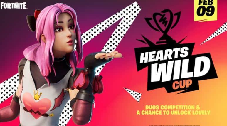Copa Hearts Wild Fortnite
