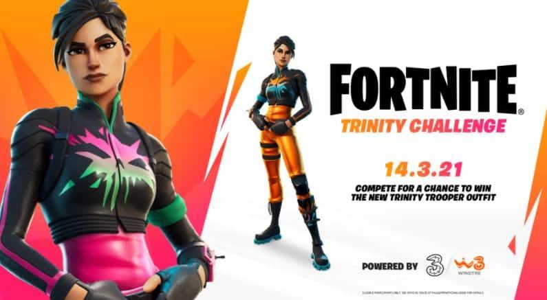 Diseño Fortnite Trinity Trooper