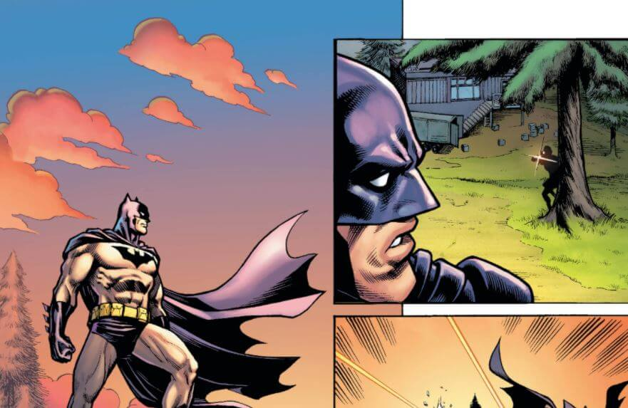 Número 1 Batman Fortnite Zero Point